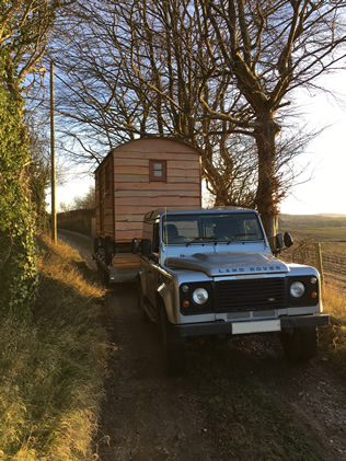 Shepherd's Hut on Trailer