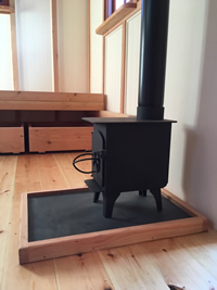 Hut Woodburning Stove